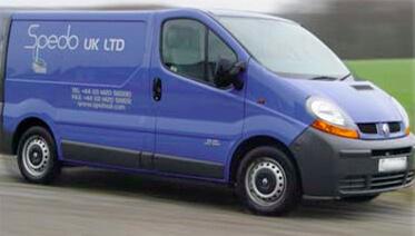 Spedo Service Van